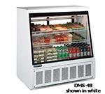 "Master-bilt DMS-72 72"" Full Service Refrigerated Deli Case w/ Straight Glass - (3) Level, 115v"