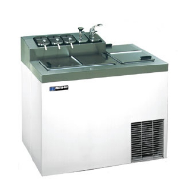 "Master-bilt FLR-60-SE 43"" Stand Alone Ice Cream Freezer w/ 5-Tub Capacity & 7-Tub Storage, 115v"