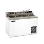 "Master-bilt FLR-80 54"" Stand Alone Ice Cream Freezer w/ 6-Tub Capacity & 11-Tub Storage, 115v"