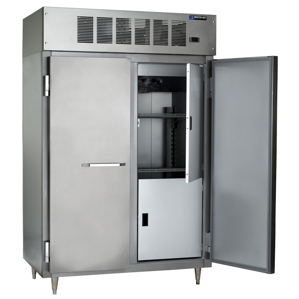 "Master-bilt IHC-48 52"" Two Section Reach-In Freezer, (2) Solid Doors, 208v/1ph"