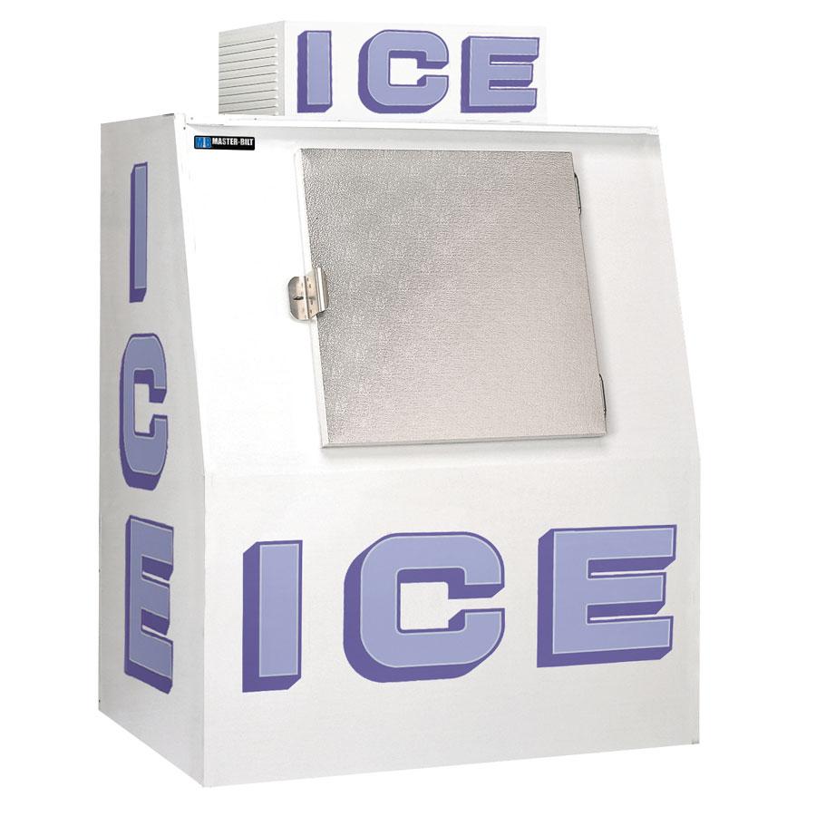Master-bilt IM-38F Outdoor Ice Merchandiser w/ (130) 7-lb Bag Capacity, 115v