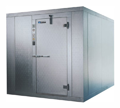 Master-bilt 760610-X Indoor Walk In Cooler Freezer 5-10x9-8x7-6-in Infit Door Galvalume Box Only