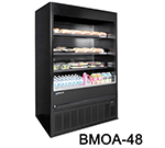 "Master-bilt BMOA-36R 36"" Vertical Open Air Cooler w/ (4) Levels, 208-230v/1ph"