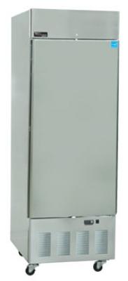 """Master-bilt BSD-24SRA 27.5"""" Single Section Reach-In Refrigerator, (1) Solid Door, 115v"""