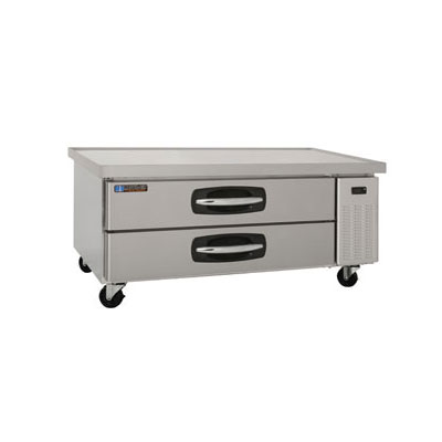 "Master-bilt MBCB60 60"" Chef Base w/ (2) Drawers, 115v"