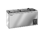"Master-bilt DC-10DSE 66.63"" Stand Alone Ice Cream Freezer w/ 14-Tub Capacity & 11-Tub Storage, 115v"