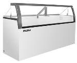 "Master-bilt DD-66LCG 69.25"" Stand Alone Ice Cream Freezer w/ 12-Tub Capacity & 8-Tub Storage, 115v"