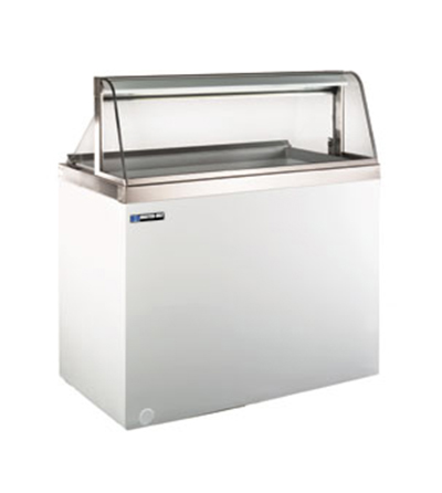 Master-bilt DD-46CG 47.75 Stand Alone Ice Cream Freezer w/ 8-Tub Capacity & 4-Tub Storage, 115v