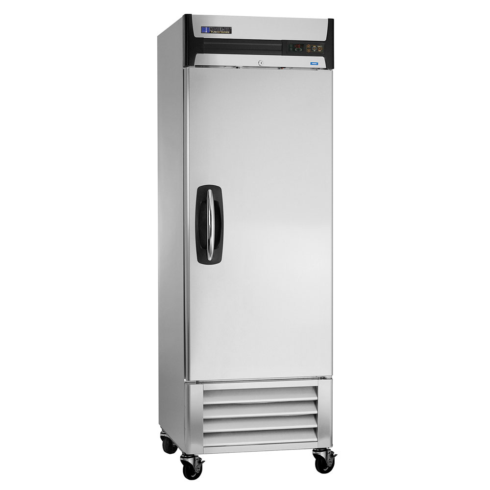 "Master-bilt MBF23-S 27.5"" Single Section Reach-In Freezer, (1) Solid Door, 115v"