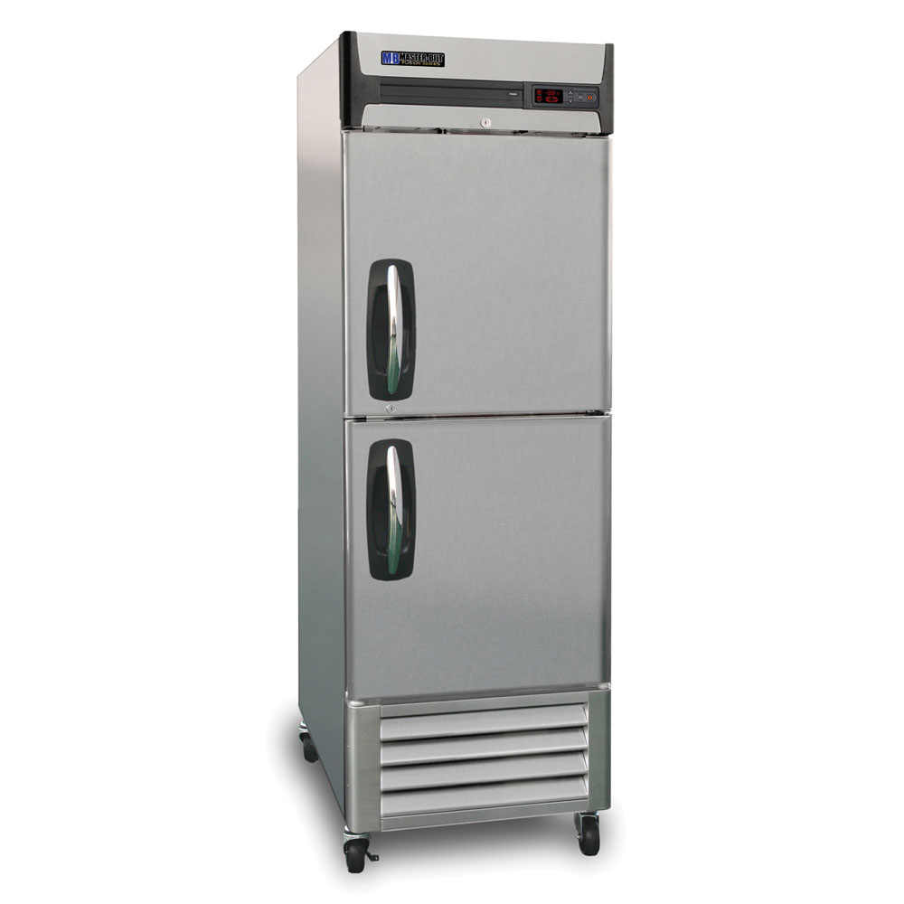 "Master-bilt MBF23-SH 27.5"" One Section Reach-In Freezer - (2) Solid Doors, 115v"