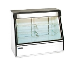 "Master-bilt FIP-50 60"" One-Section Display Freezer w/ Sliding Doors - Rear Mount Compressor, Black, 115v"