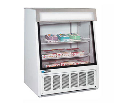 "Master-bilt FIP-40 40"" One-Section Display Freezer w/ Sliding Doors - Bottom Mount Compressor, 115v"