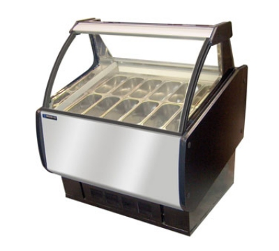 Master-Bilt GEL-6 46.31 Stand Alone Ice Cream Freezer w/ ...