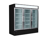"Master-bilt MBGR70H 78"" Three-Section Refrigerated Display w/ Swing Doors, Bottom Mount Compressor, 115v"