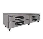 "Master-bilt MBCB96 96"" Chef Base w/ (4) Drawers - 115v"