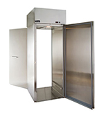 """Master-bilt MPWR332SSS/0X 31"""" Single Section Roll-In Refrigerator, (1) Solid Door, 115v"""