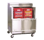 Masterbilt OMC-082-SS 35-in Open Front Milk Cooler, 12.2-cu ft, Stainless