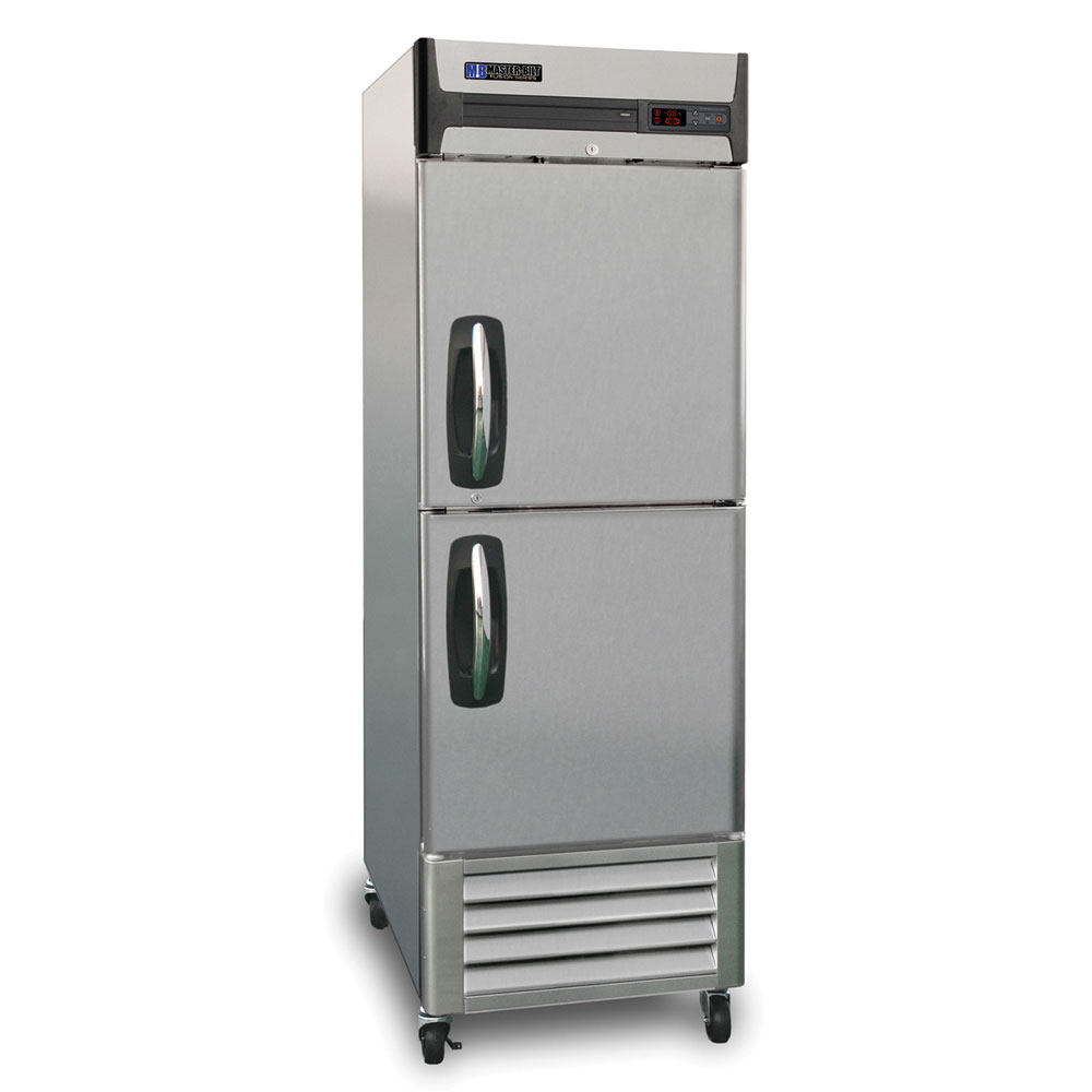 "Master-bilt MBR23SH 27.5"" One-Section Reach-In Refrigerator, (2) Solid Doors, 115v"