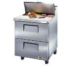 "Master-bilt MBSMP72-30-004 72"" Sandwich/Salad Prep Table w/ Refrigerated Base, 115v"