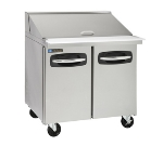 "Master-bilt MBSMP36-15 36"" Sandwich/Salad Prep Table w/ Refrigerated Base, 115v"