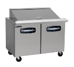 "Master-bilt MBSMP48-18 48"" Sandwich/Salad Prep Table w/ Refrigerated Base, 115v"