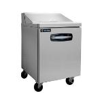 "Master-bilt MBSP27-8A-001 27.5"" Sandwich/Salad Prep Table w/ Refrigerated Base, 115v"