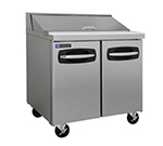 "Master-bilt MBSP36-10 36"" Sandwich/Salad Prep Table w/ Refrigerated Base, 115v"