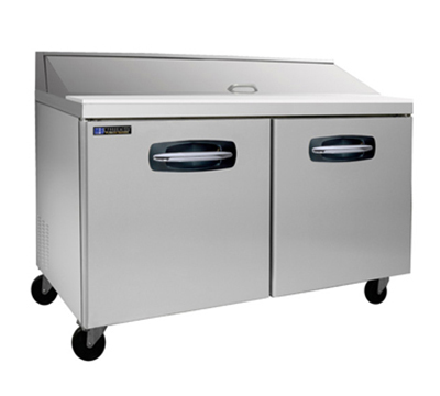 "Master-bilt MBSP60-16 60"" Sandwich/Salad Prep Table w/ Refrigerated Base, 115v"