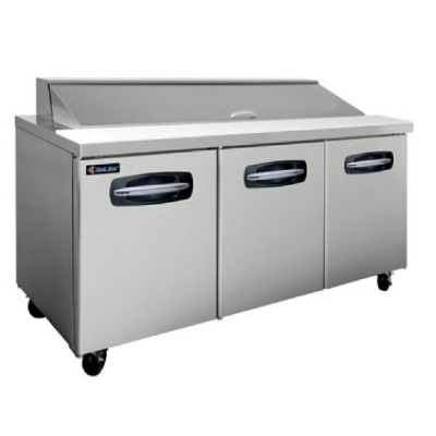 "Master-bilt MBSP72-18A-007 72"" Sandwich/Salad Prep Table w/ Refrigerated Base, 115v"