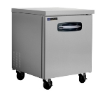 Master-bilt MBUR27 7-cu ft Undercounter Refrigerator w/ (1) Section & (1) Door, 115v