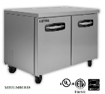 Master-bilt MBUR72-002 20-cu ft Undercounter Refrigerator w/ (3) Sections, (2) Drawers & (2) Doors, 115v