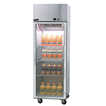 "Master-bilt MNR803SSS/0X 82.5"" Three Section Reach-In Refrigerator, (3) Solid Doors, 115v"