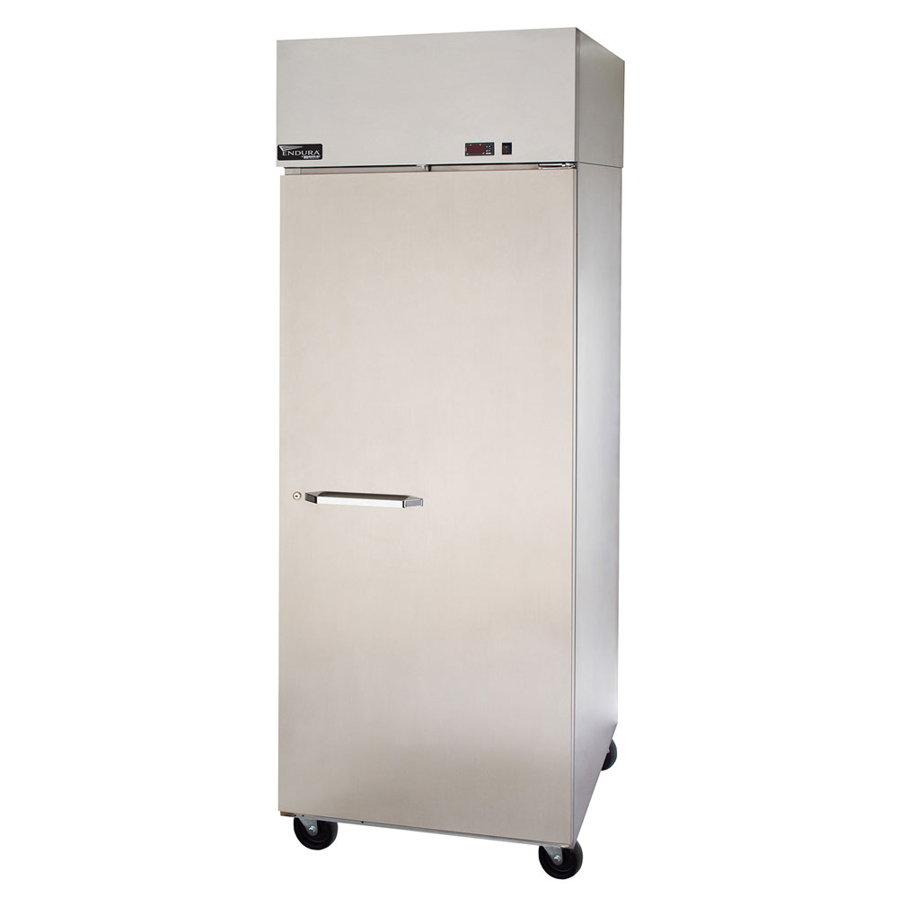"Master-bilt MNR241SSS/0X 28"" Single Section Reach-In Refrigerator, (1) Solid Door, 115v"