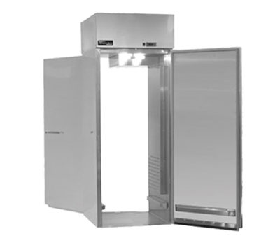 "Master-bilt MPWW724SSS/8 63.5"" Roll-Thru Heated Cabinet - (4) Solid Door, 78.1-cu ft"