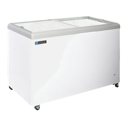 "Master-bilt MSF-52A 52"" Mobile Ice Cream Freezer w/ 4 Baskets, Mobile, White, 115v"