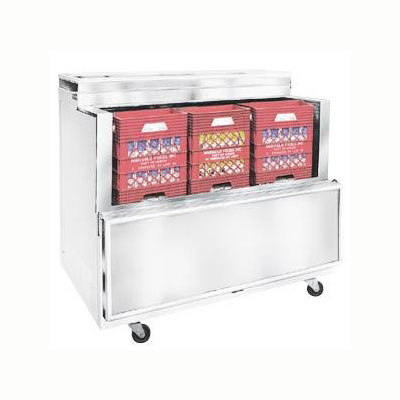Master-bilt OMC-162-A Milk Cooler w/ Top & Side Access - (1800) Half Pint Carton Capacity, 115v
