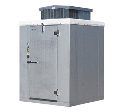 "Master-bilt W20610PE Indoor Walk-In Cooler Package (+35° F) - 5'-10"" x 9'-8"" x 7'-2"" H, 208/1v"