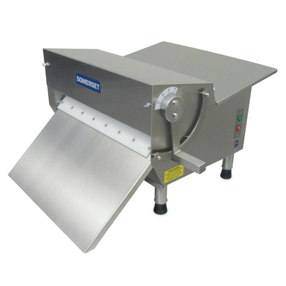Somerset CDR-500 115 Countertop Dough Sheeter w/ 600-Piece/Hr Capacity, 115V