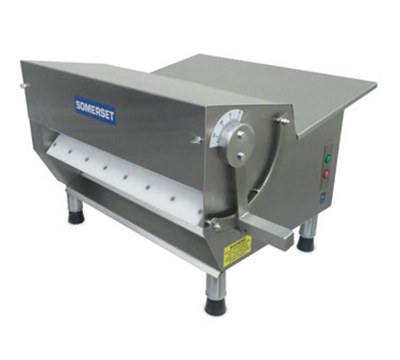 Somerset CDR-500 115 Countertop Dough Sheeter w/ 600-Piece/Hr Capacity, 115V