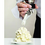iSi 173001 Cream Profi Whip Cream Dispenser, One Quart, Brushed SS