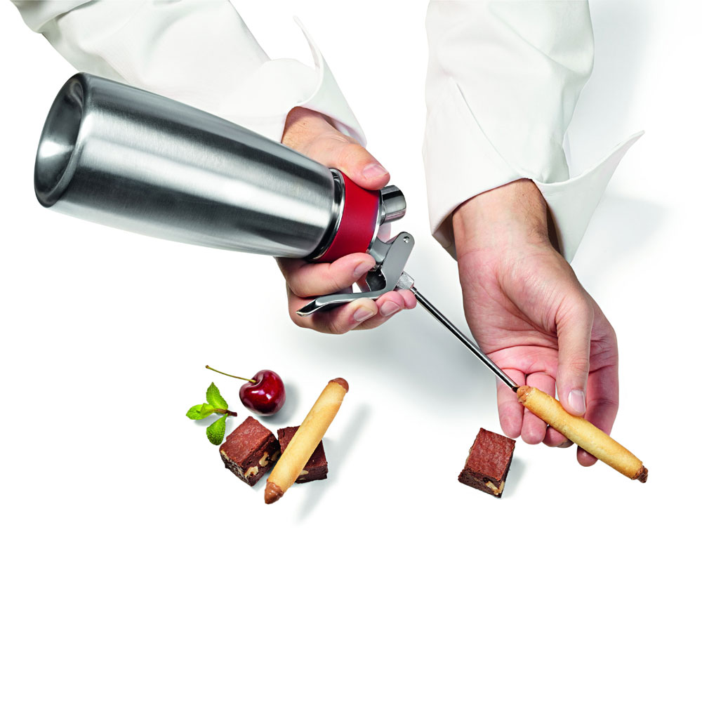 iSi 2718 Injector Tips w/ 2-Short & 2-Long, Dishwasher Safe, Stainless