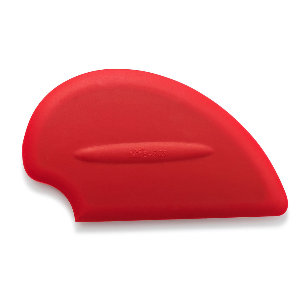 iSi B100 01 Flexible Silicone Scraper Spatula, Red