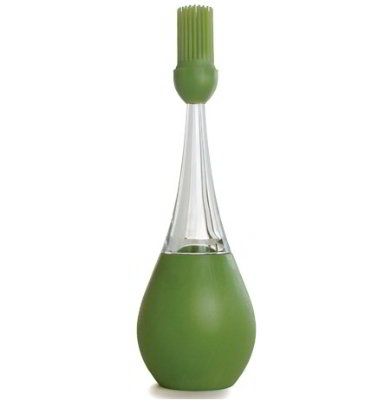 iSi B20104 Standing Bulb Baster with Silicone Brush, Wasabi