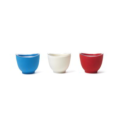 iSi B25265 Prep Bowl Set w/ (3) 1-cup Bowls & No Drip Lip, Assorted Colors