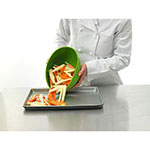 iSi B260 04 1-qt Flexible Mixing Bowl w/ Secure Grip Texture & Form Anywhere Spout, Wasabi