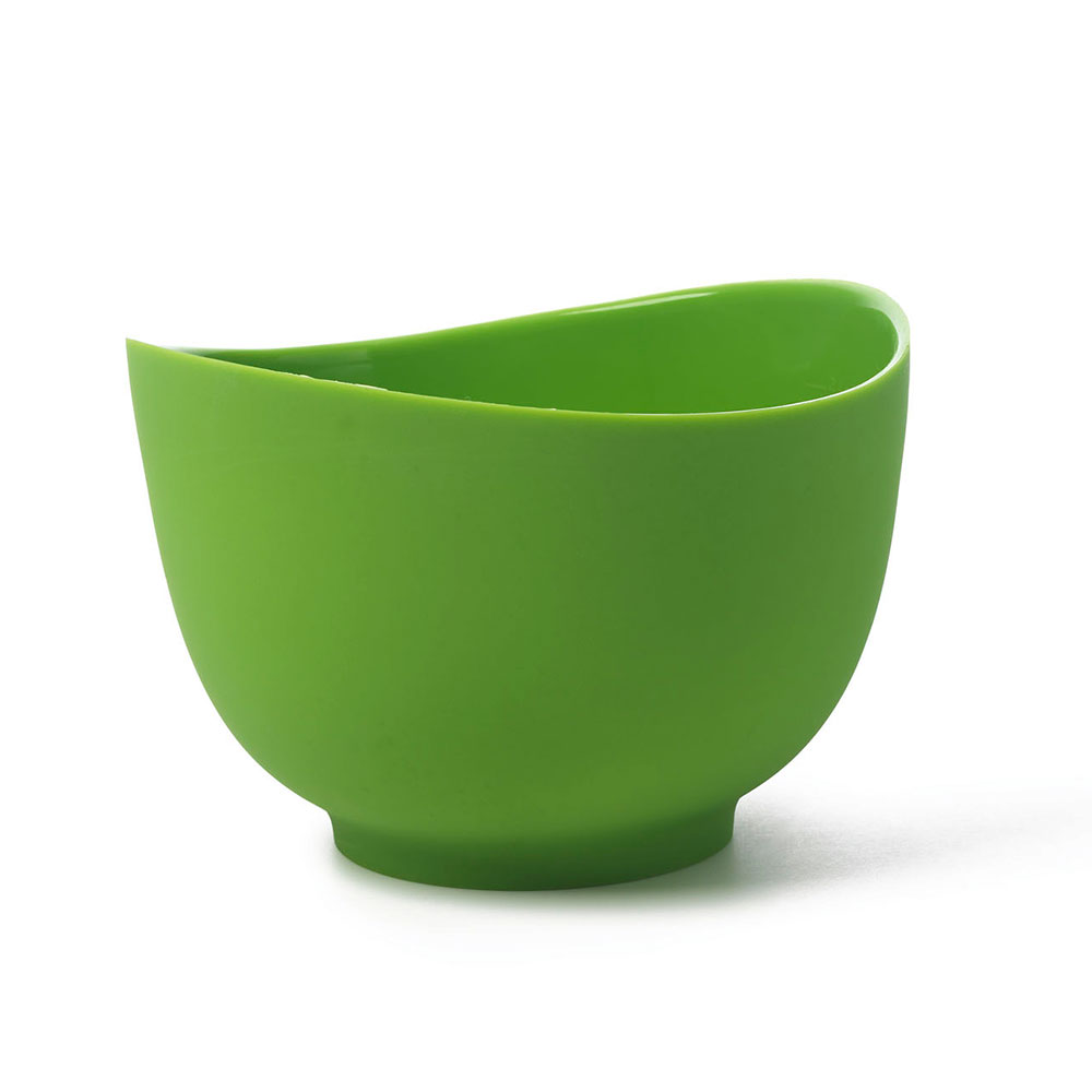 iSi B261 04 1.5-qt Flexible Mixing Bowl w/ Secure Grip Texture & Form Anywhere Spout, Wasabi