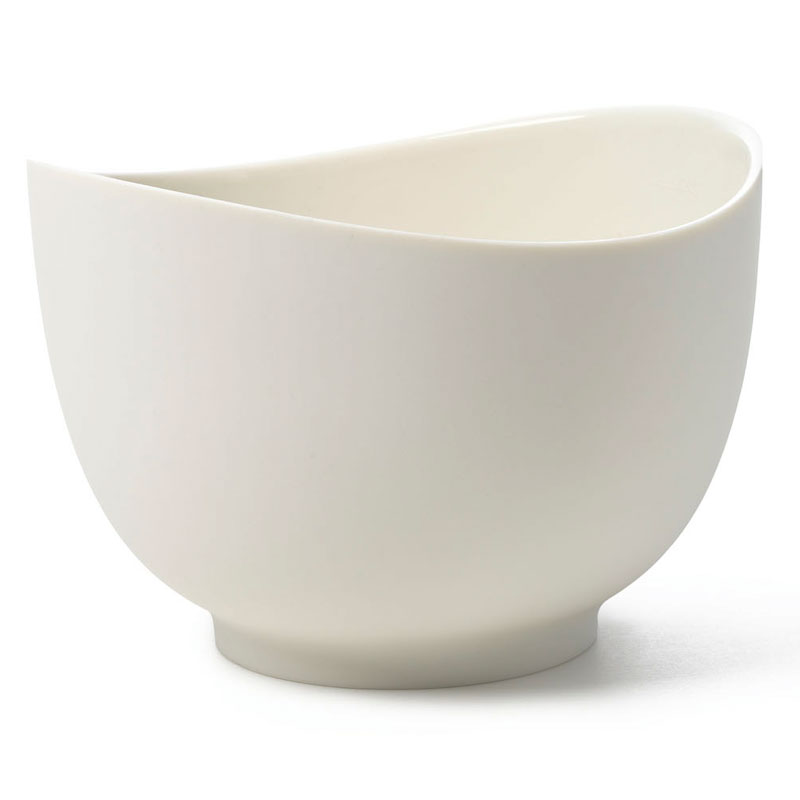 iSi B262 02 2-qt Flexible Mixing Bowl w/ Secure Grip Texture & Form Anywhere Spout, White