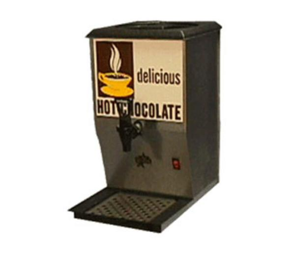 Star Manufacturing 112 Pre-Mix Hot Chocolate Dispenser, 12qt Cap, Pourover, Drip Tray & Screen