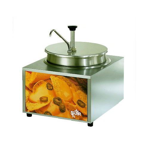 Star 11WLAP Heat & Serve Cheese Warmer w/ Dry Heat Pump, 11-qt