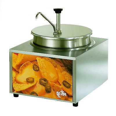 Star 11WLA-P CUL-120 11-qt Cheese Warmer & Pump, Dry Heat, Stainless, 120 V, Export